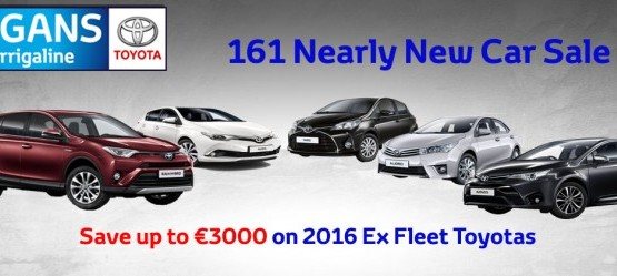 161 Nearly New Car Sale