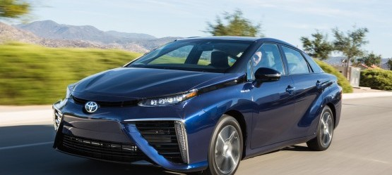 The Toyota Mirai elected World Green Car of the Year