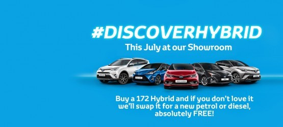 Discover Hybrid This July